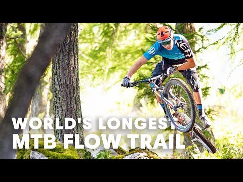 Is this the world's longest MTB Flow Trail? | MTB Destination Guide