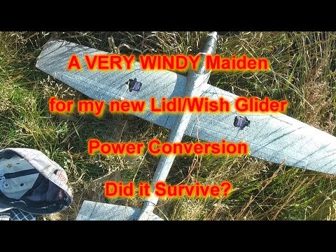 lidl-power-glider--a-very-windy-maiden-did-it-survive