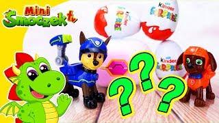Psi Patrol: Chase Znalazł Smoka! Jajka Niespodzianki Zabawki Bajki Dla Dzieci Po Polsku