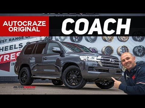 COACH // Hayden Knowles' Toyota Landcruiser - Fuel Sledge Wheels & Tyres