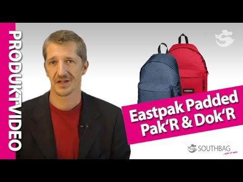 Eastpak Rucksack Padded Pak'R und Dok'R - Produktvideo