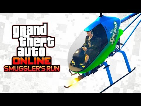 GTA Online Smuggler's Run - All Custom Aircraft