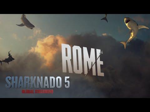 Sharknado 5: Global Swarming (Behind The Sharks: Rome)