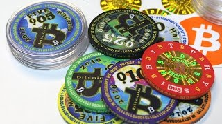Physibit Bitcoin Poker Chips