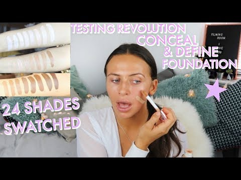 Conceal & Define Full Coverage Foundation by Revolution Beauty #5