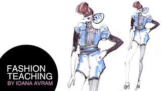 Easy Fashion Design Drawing