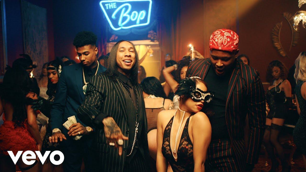 Tyga, YG, Blueface — Bop