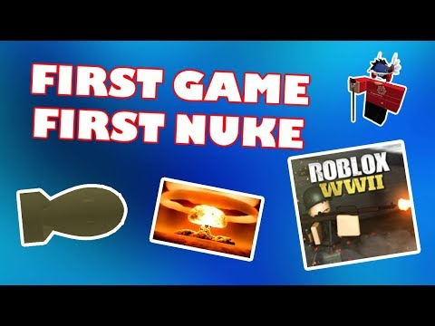 Roblox Wwii Worlds First Roblox Wwii Atom Bomb Golden Video