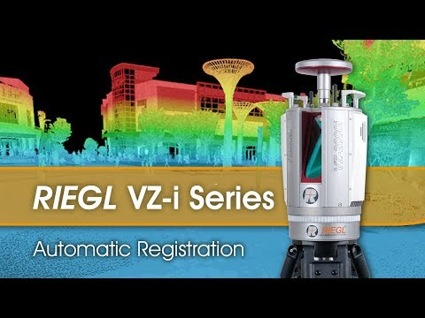 Extremely Fast RIEGL VZ-i Series Automatic Scan Data Registration