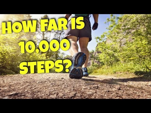 HOW FAR DO YOU HAVE TO WALK TO ACHIEVE 10,000 STEPS?