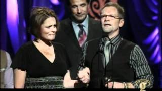 Steven Curtis Chapman - Cinderella Acceptance Speech and Performance