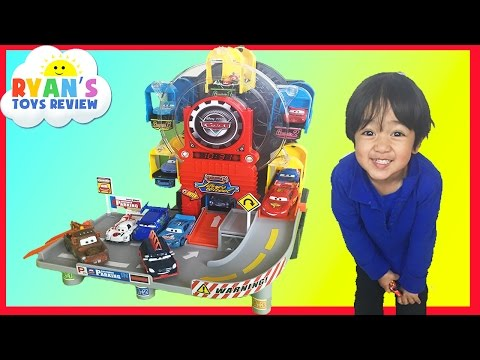 Disney Pixar Cars Toys Ferris Wheels Big Parking