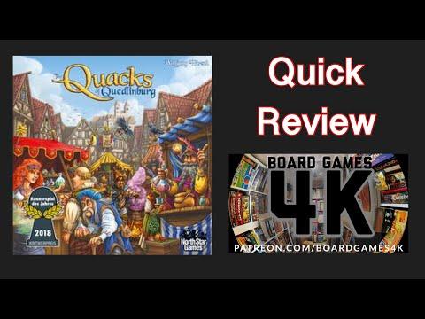 Quacks Of Quedlinburg - Quick Review