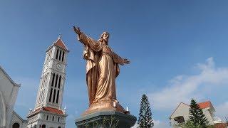 Tượng đồng Chúa Kito Vua lớn nhất Việt Nam tại Trung tâm hành hương Bằng Sở . | Kholo.pk