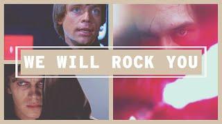 We Will Rock You / Luke, Anakin, Kylo, Ensemble (Queen + VonLichten)