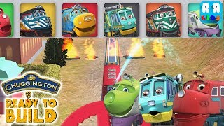 Chuggington Ready to Build - Wilson, Cormac and Koko Helping Put Out the Fire
