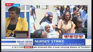 Nurses' Strike: What is the situation on nursing student's end?