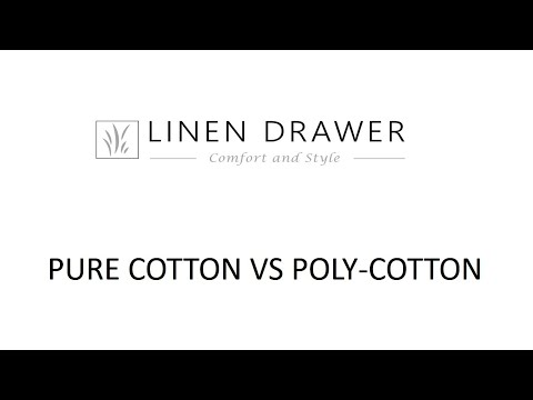 Linen Drawer - Pure Cotton vs. Poly - Cotton