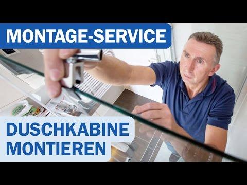 Duschkabinen-Montage bei Duschmeister.de
