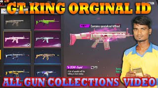 Gaming Tamizhan All Gun Collection Video |  All Gun Skins Permanent | Free Fire ID  Collection Video