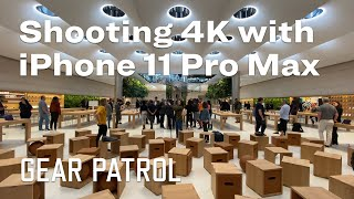 iPhone 11 Pro Max Camera 4K Video Test: Apple Store Fifth Ave Tour