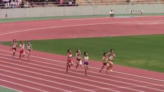 2017 東海総体陸上 女子4×400mR 決勝