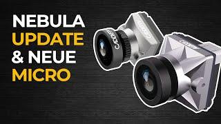 Caddx Nebula Nano Update und Nebula Micro Analog/Digital FPV Kamera