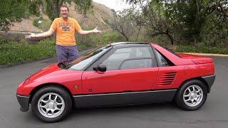 The Autozam AZ-1 Is a Ridiculous, Tiny, Surprisingly Fun Sports Car