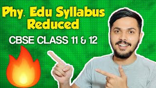 Physical Education Class 12th Syllabus reduced for CBSE 2020-21 🔥 | FULL EXPLANATION 😎 - Download this Video in MP3, M4A, WEBM, MP4, 3GP