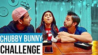 Chubby Bunny Challenge   Rimorav Vlogs