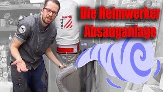 Holzmann ABS 1080 Absauganlage für mein TS 250 ! review ! overview ! Werkstatt Absaugung ! tobiebel