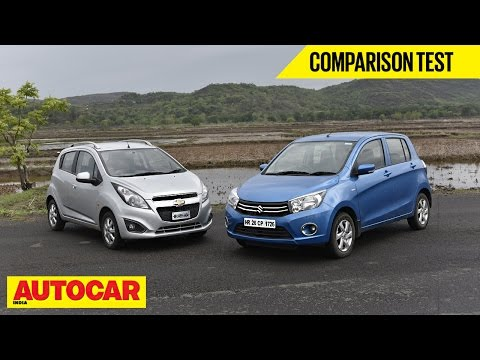 Maruti Celerio Diesel vs Chevrolet Beat Diesel | Comparison Test | Autocar India