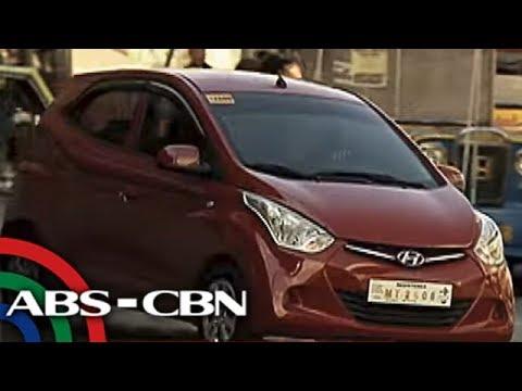 TV Patrol: 'Hatchback,' maliliit na kotseng pang-Uber, Grab, planong ipagbawal ng LTFRB
