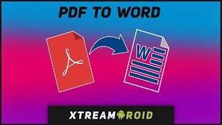How To Convert PDF To Word Without Software In Just 2 Minutes (2018)