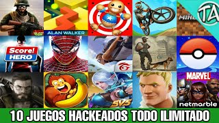 Top 25 Juegos Hackeados Android Actualizados En Su Ultima Version