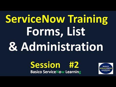 2 ServiceNow Development Training   ServiceNow Online Training