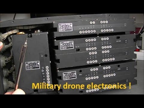 Vintage military drone autopilot teardown