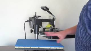 How To Use 5 In 1 Digital Heat Press Machine Shareprofit Heat Press Swing Away Hat Press