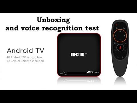 Mecool M8S PRO tv box & Voice Input Control - Banggood.com
