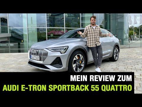 2020 Audi e-tron Sportback S line 55 quattro (408 PS)🔋🔌 E-SUV-Coupé im Review | Fahrbericht | Test