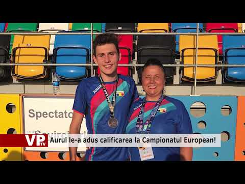 Aurul le-a adus calificarea la Campionatul European!
