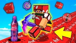 CORSA con i LUCKYBLOCK COCACOLA - Minecraft ITA