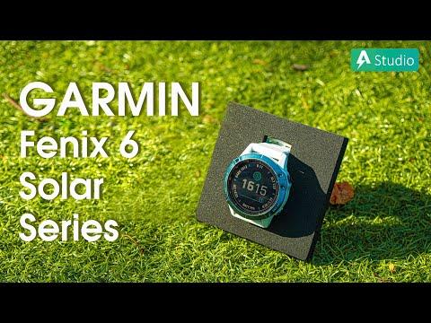 Review Garmin Fenix 6 Pro Solar Series| Pin trâu hơn, thêm tính năng leo núi, lướt sóng,...