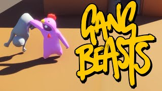 Gang Beasts - ИСПЫТАНИЕ СИЛЫ! (Брейн и Даша)