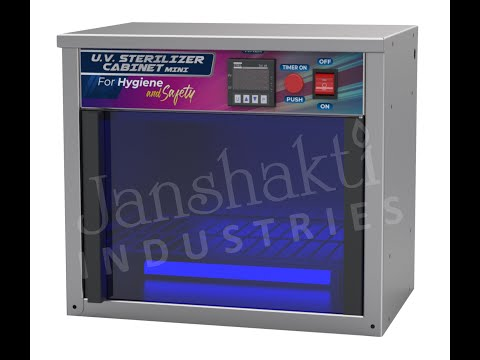 Janshakti UV Sterilizer Cabinet - Mini