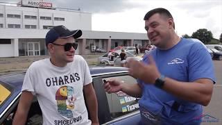 Шумахер прилетел в Черкассы на Авторалли  ,Спалил два комплекта резины, готовимся  к старту