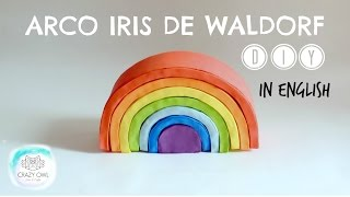 DIY WALDORF / GRIMM'S RAINBOW WITH CARDBOARD
