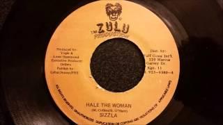 "Sizzla - Hail The Woman - Zulu 7"" w/ Version"