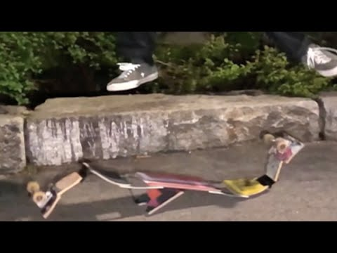 This is the most creative skateboarding I've ever seen
