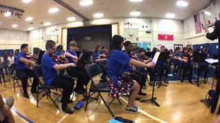 We will rock you. Westlane 6th grade orchestra